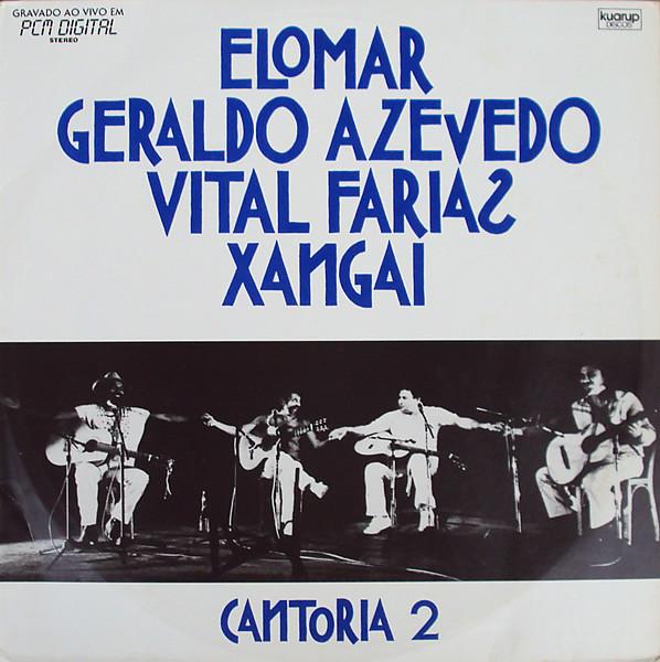 Foto: CANTORIA 2 - Elomar, Geraldo Azevedo, Vital Farias e Xangai